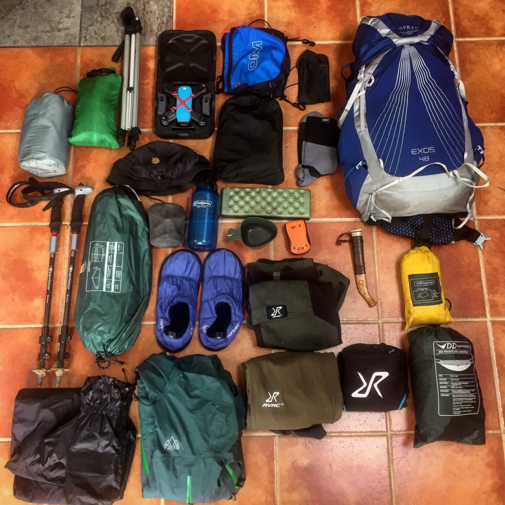 gear load out for sweden