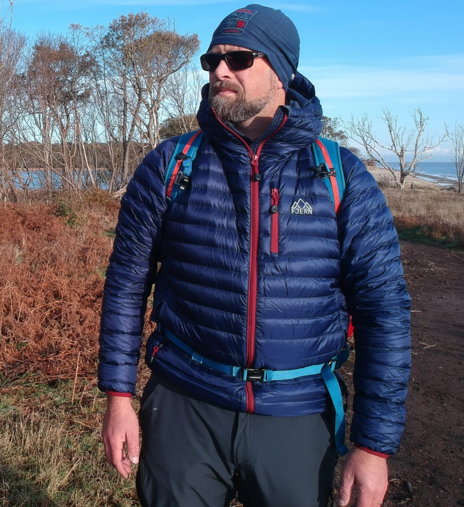 fjern active down jacket