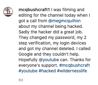 mcq bushcraft hacked